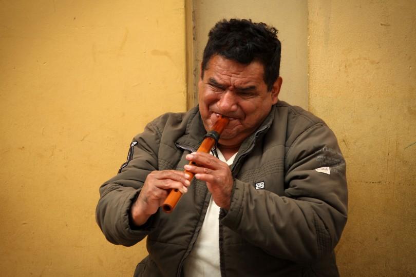 Wood flute performance