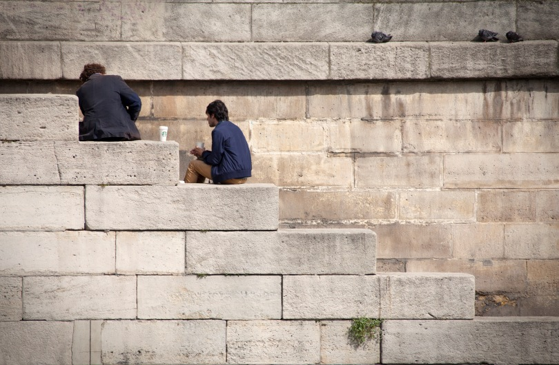 Lunch time on the Seine