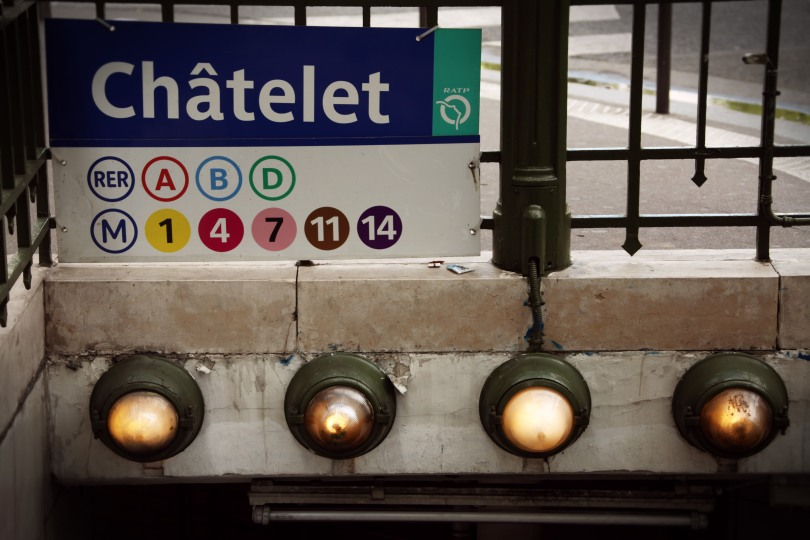 Châtelet Metro Stop