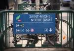 Notre Dame Metro stop.