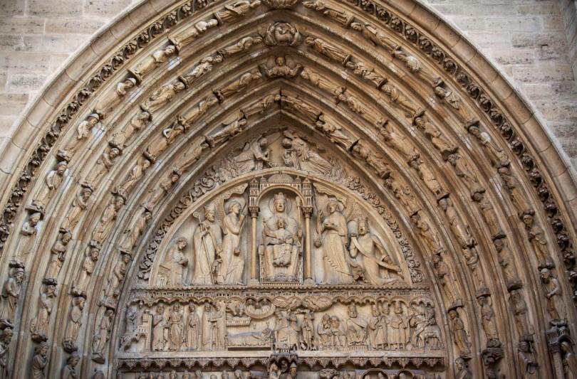 Notre Dame detail