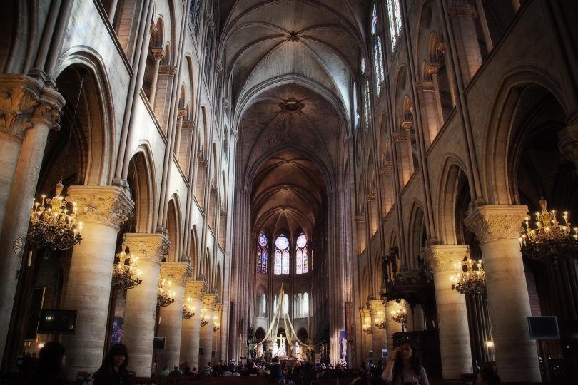 Cathedral de Notre Dame.