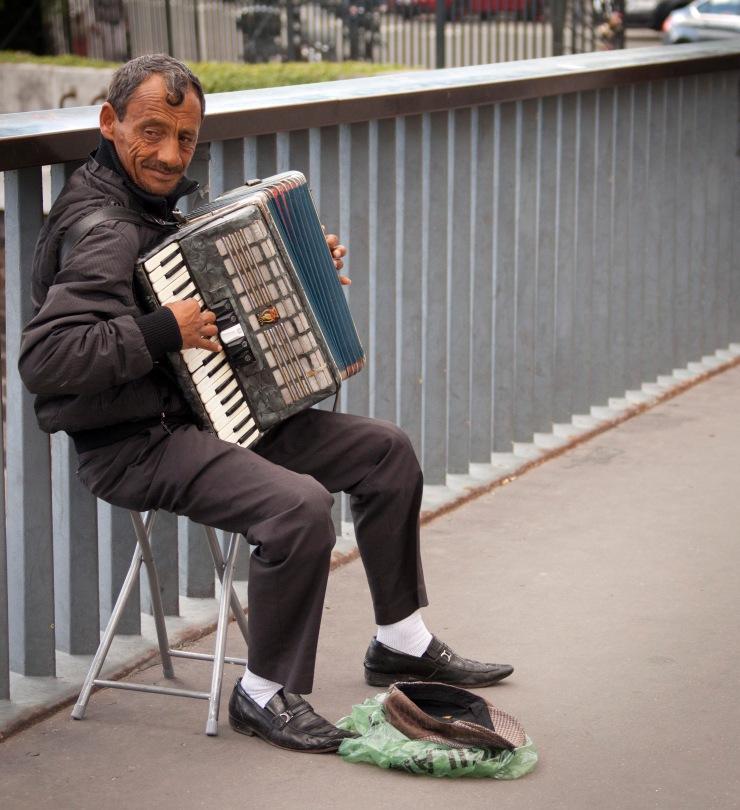 Parisian Street Performer
