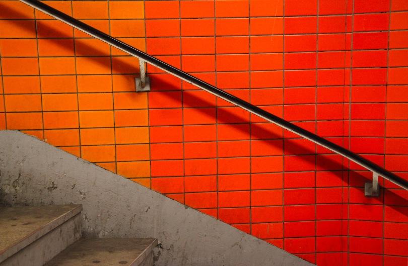 Paris Metro tile work