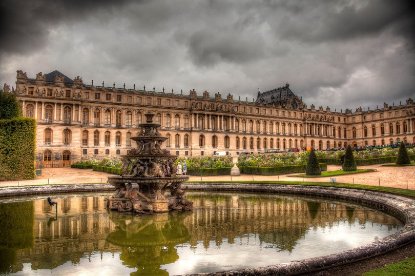 Palace of Versailles Fountain View
