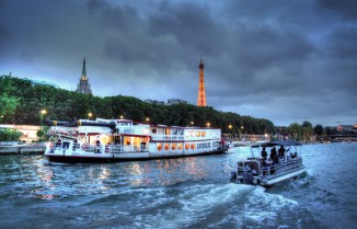 Dinner Cruise on the Seine.
