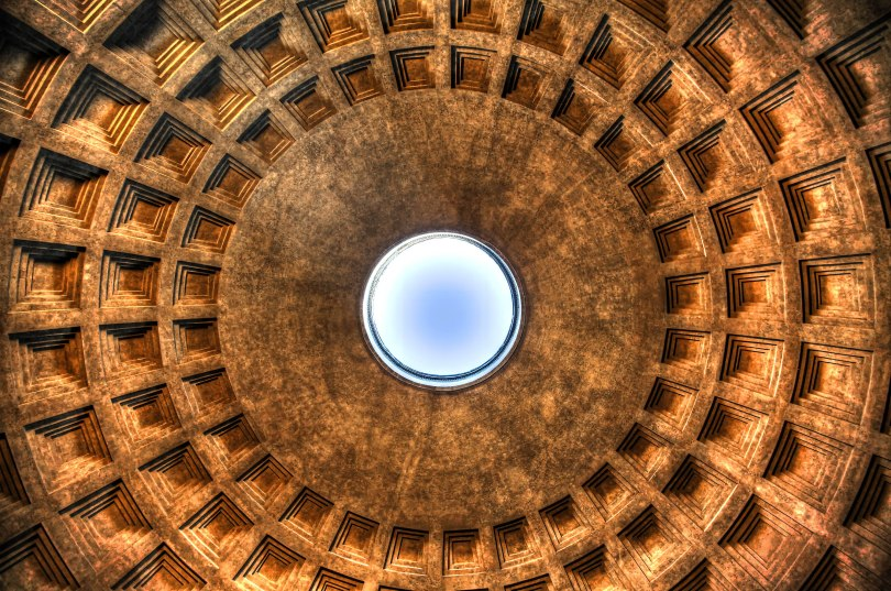 The Pantheon Interior Dome