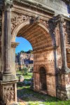 Through the Arch of Septimus Severus