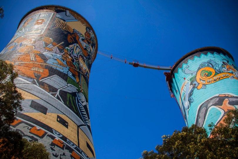 Soweto Towers_Bungee Platform