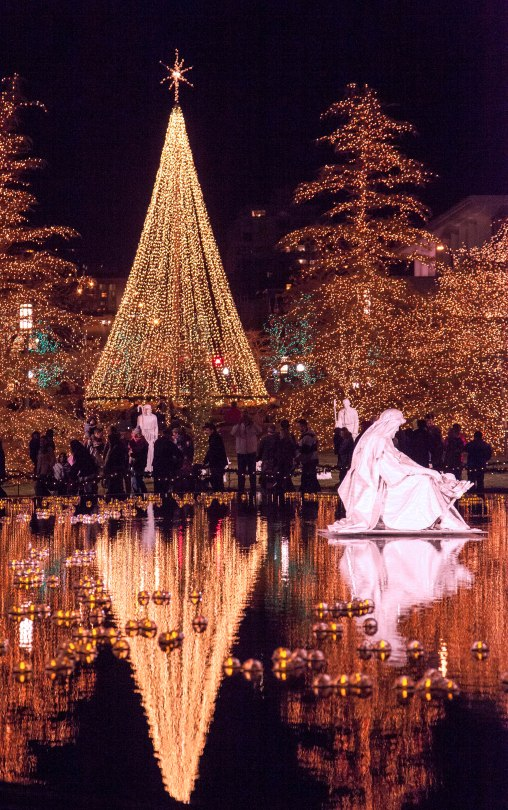 Temple Square Reflecting Pool