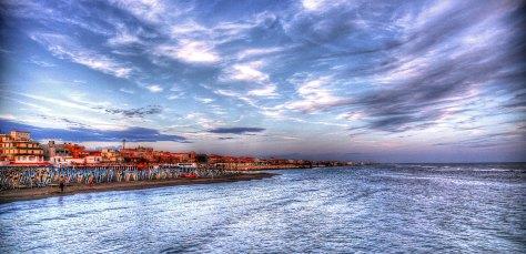 Ostia Beach, Rome Italy