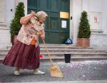 Sweeper Woman