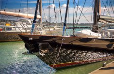 Sail boat at Rest