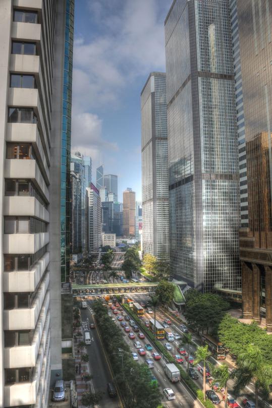 Downtown Hong Kong