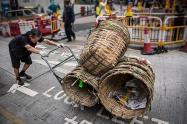 Pushing Baskets