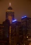 Night time in Hong Kong