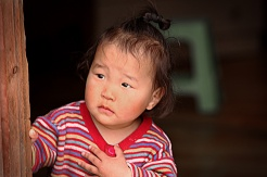 Little Mongolian Girl