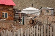 Mongolian Outhouse