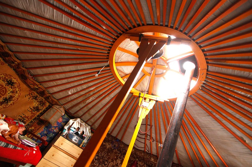 Yurt Ceiling