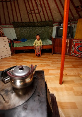 Yurt Playroom