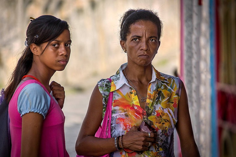 Brazilian Mother and Daughter.
