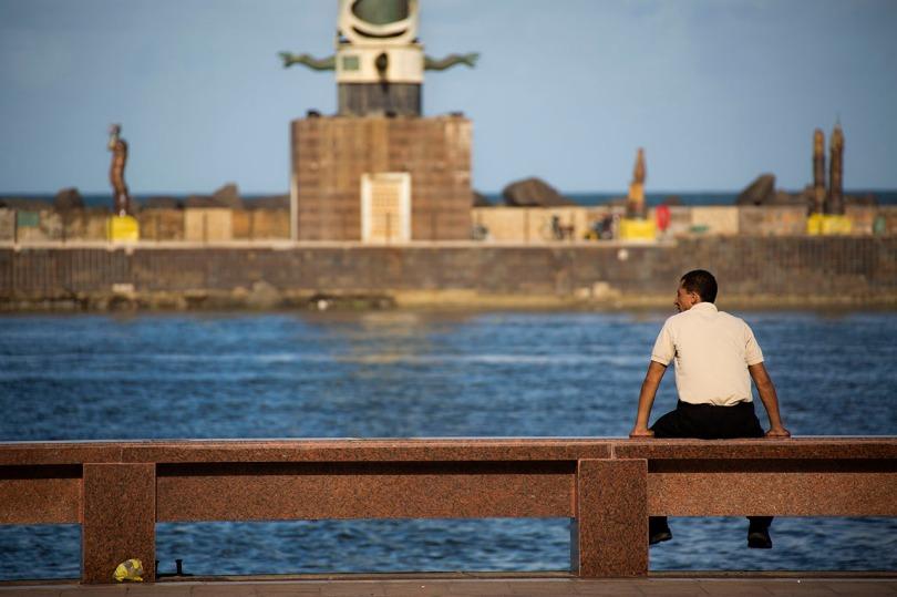 Recife harbor.