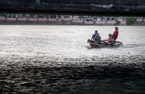 boat ride on the Beberibe river in Brazil.