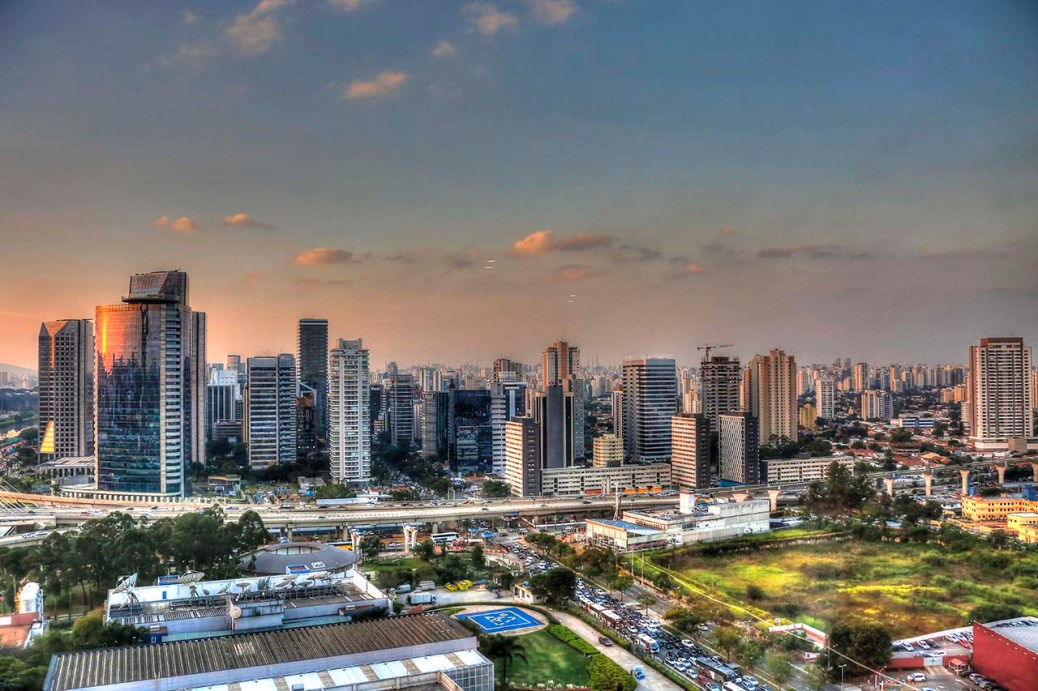 Sao Paulo, Skyline.