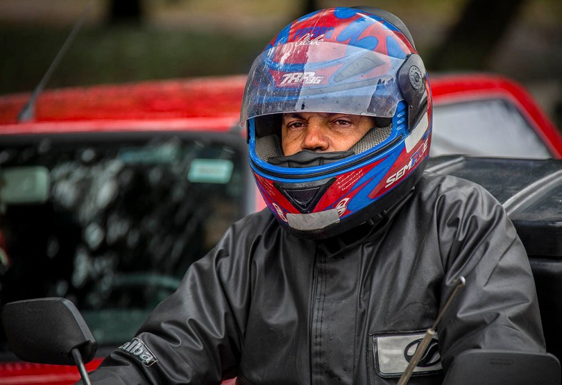 Curitiba Motorcyclist.