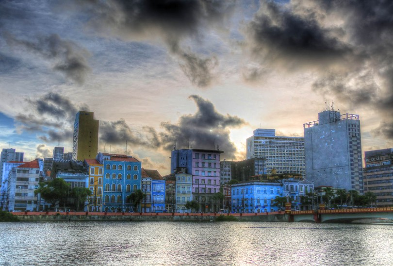 Recife, Brazil waterfront.