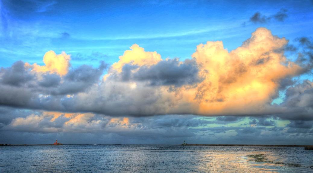 Recife, Brazil Sunset.