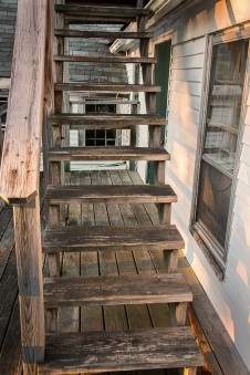Weathered Stairs