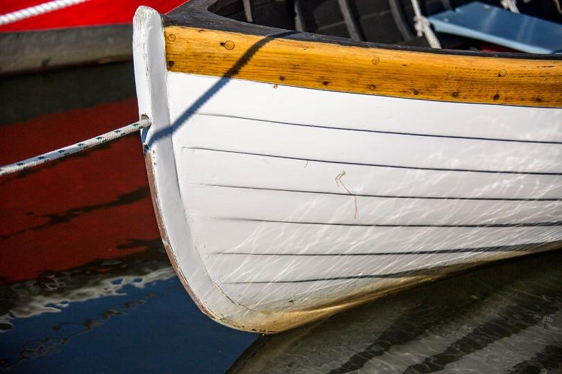 White Row Boat