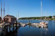 Rockport Harbor boat house
