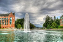 Drumheller Fountain, University of Washington