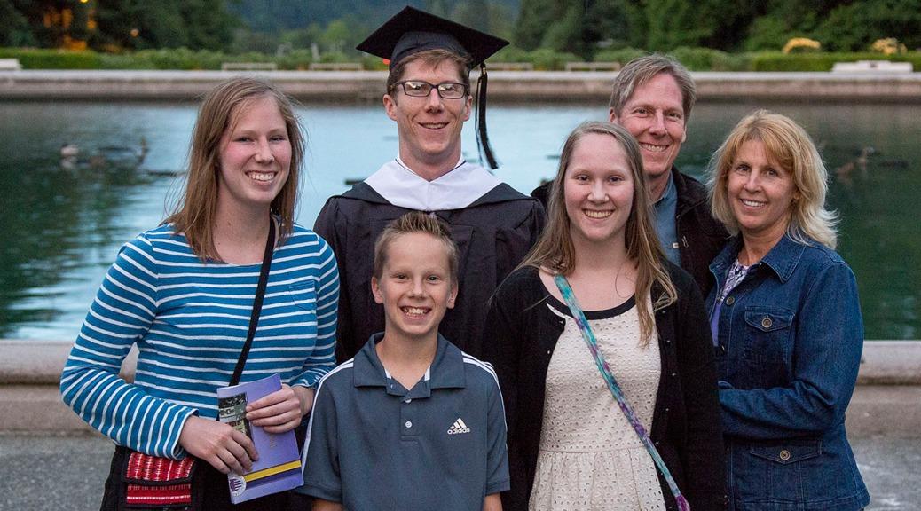 Family Grad Photo