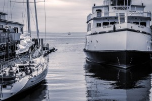 Sailboat and Steamer