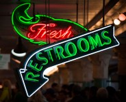 Fresh Restrooms at Pike Place