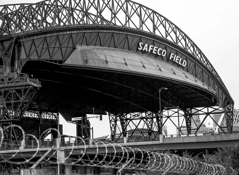 Safeco Field Roof.