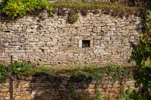 The condition of stone walls can be an indication of ancient age.