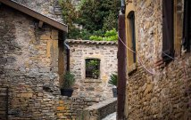 Built in the 12th century, the walls of this village still shelter residents.