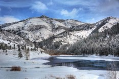 Tibble Fork Reservoir.