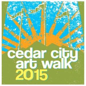 Cedar City Art Walk Flyer