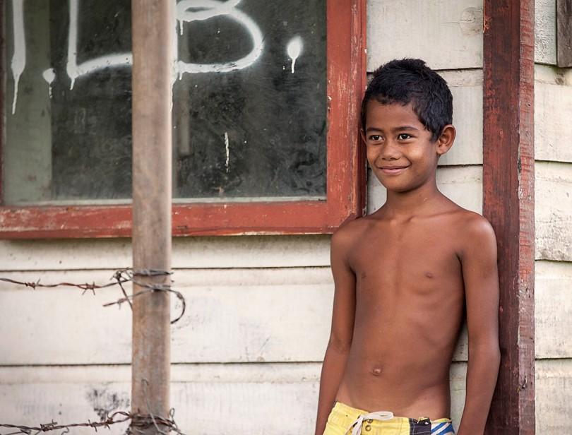 Samoan Boy.
