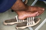 Lava Lavas and sandals.