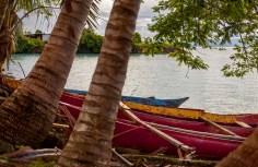 Canoe bay, Samoa.