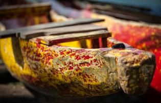 Samoan canoe.