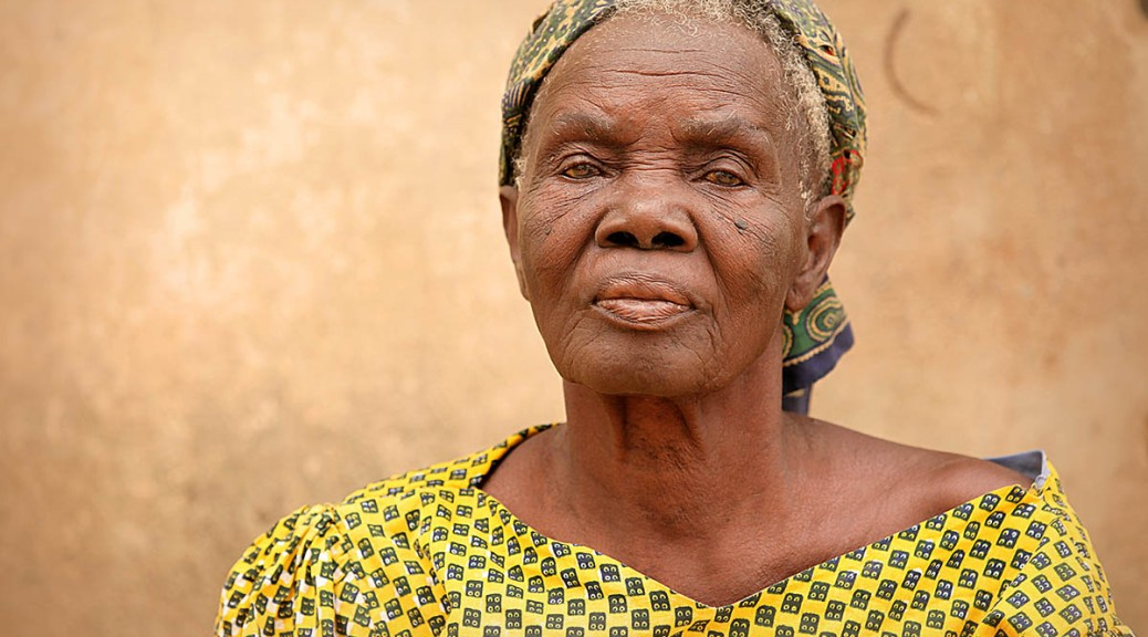 Old woman, Yamoransah, Ghana.