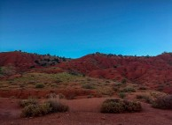 Red dirt and blue sky–Capitol Reef.