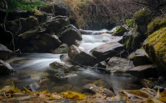 Mountain stream, American Fork Canyon.